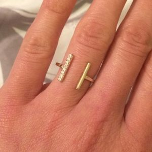 Jewelry - Open Double Bar Ring